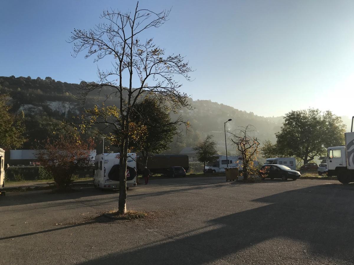 The Big Trip, Day 2, morning: aroundRouen
