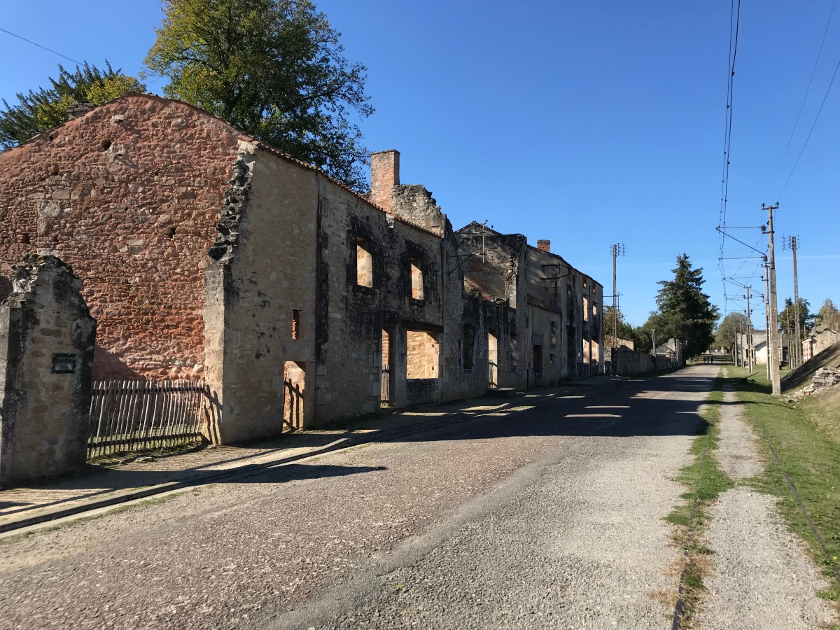 The Big Trip, Day 3: Oradour sur Glane – Souviens Toi