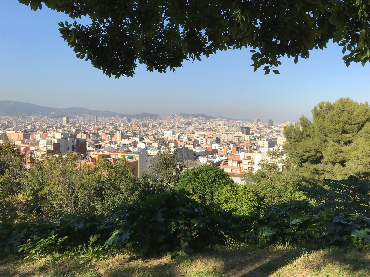 The Big Trip, Day 6: Barcelona – such a beautiful horizon