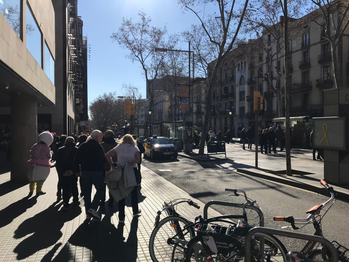 Barcelona – weekend before the work begins
